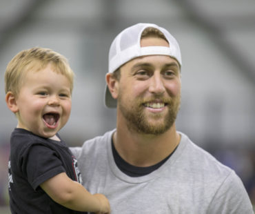 Adam and Asher at 2018 Youth Camp