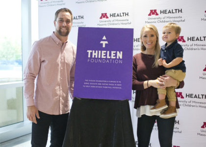 Thielen Foundation Official Launch with U of M Children's Hospital Partnership