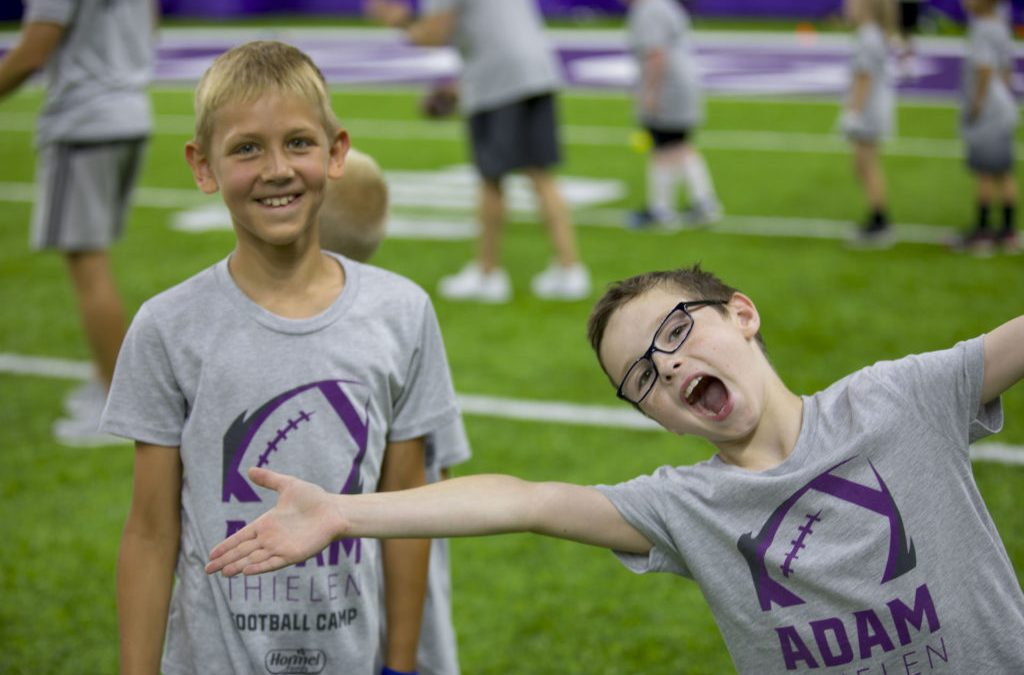 2018 Adam Thielen Youth Football Camp