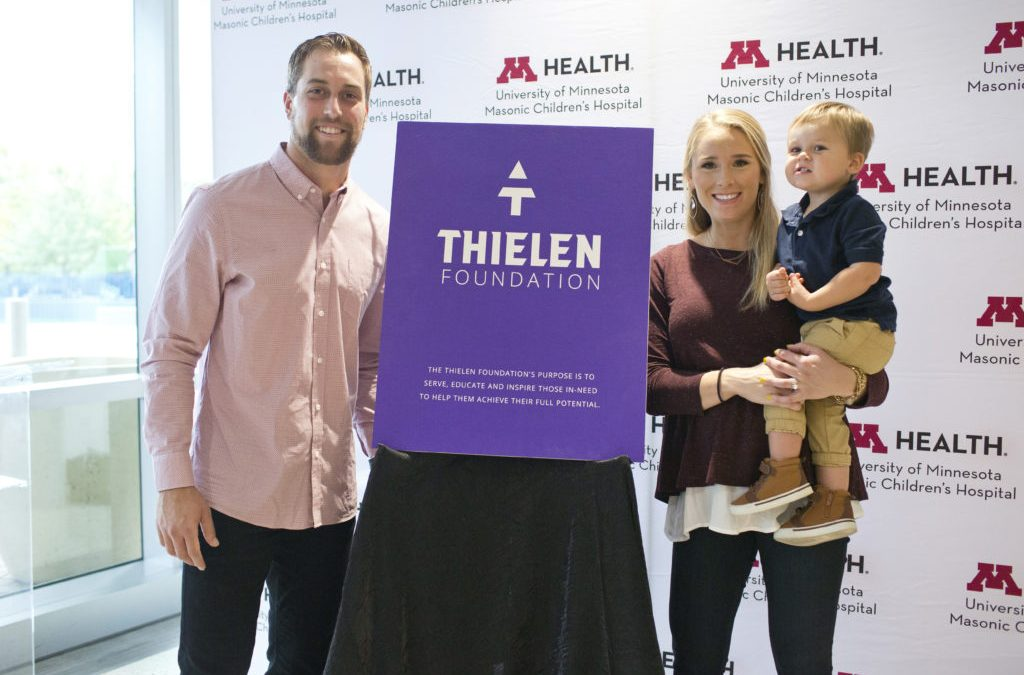 Thielen Foundation Launch; U of M Children's Hospital Partnership